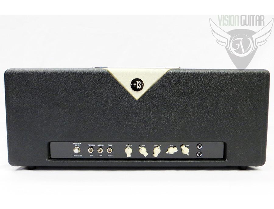 Divided By 13 JJN 50/100 Amplifier Head