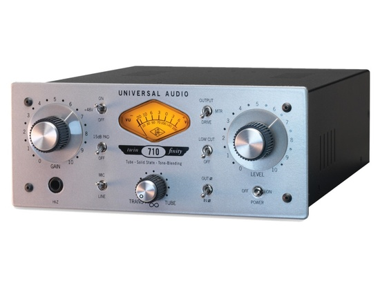 Universal Audio 710 Twin-Finity Microphone Preamp