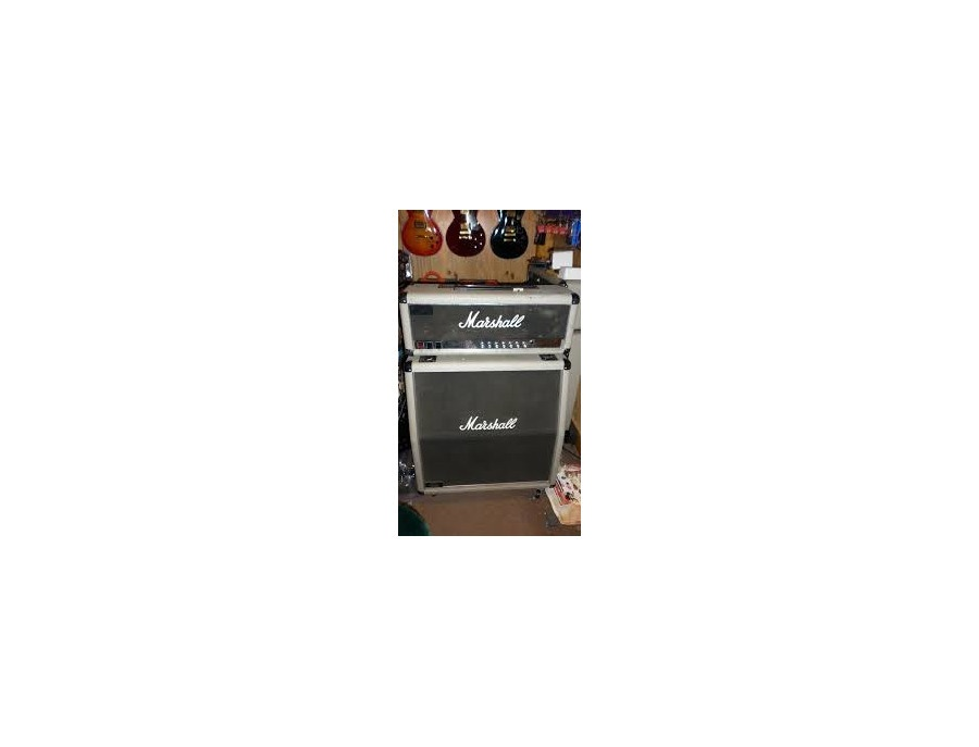 Marshal 100 watt Silver Jubilee with 4x12 cab.