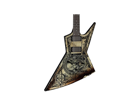 Dean Dave Mustaine Zero- In Deth We Trust