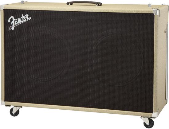 Fender 2x12 Supersonic Cabinet (Blonde+Oxblood)