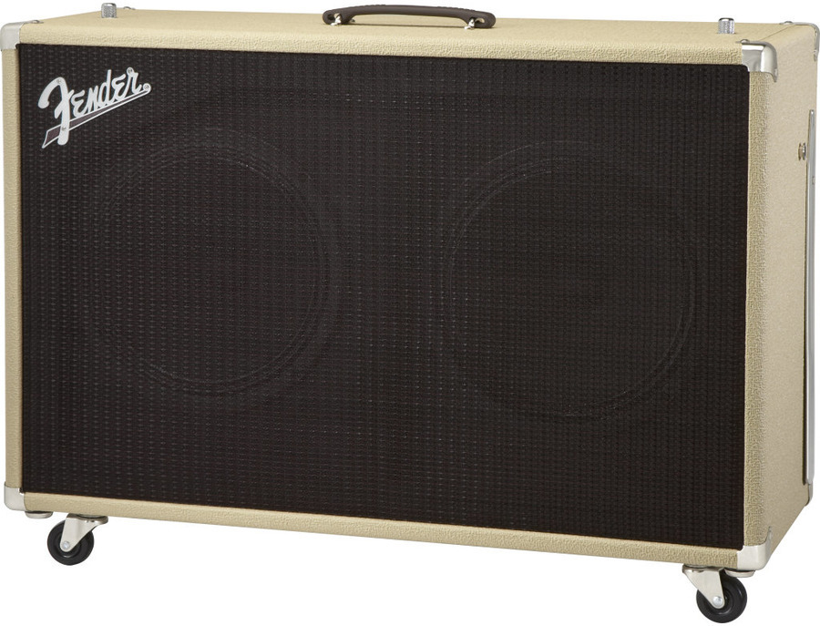 Fender 2x12 Supersonic Cabinet (Blonde+Oxblood)