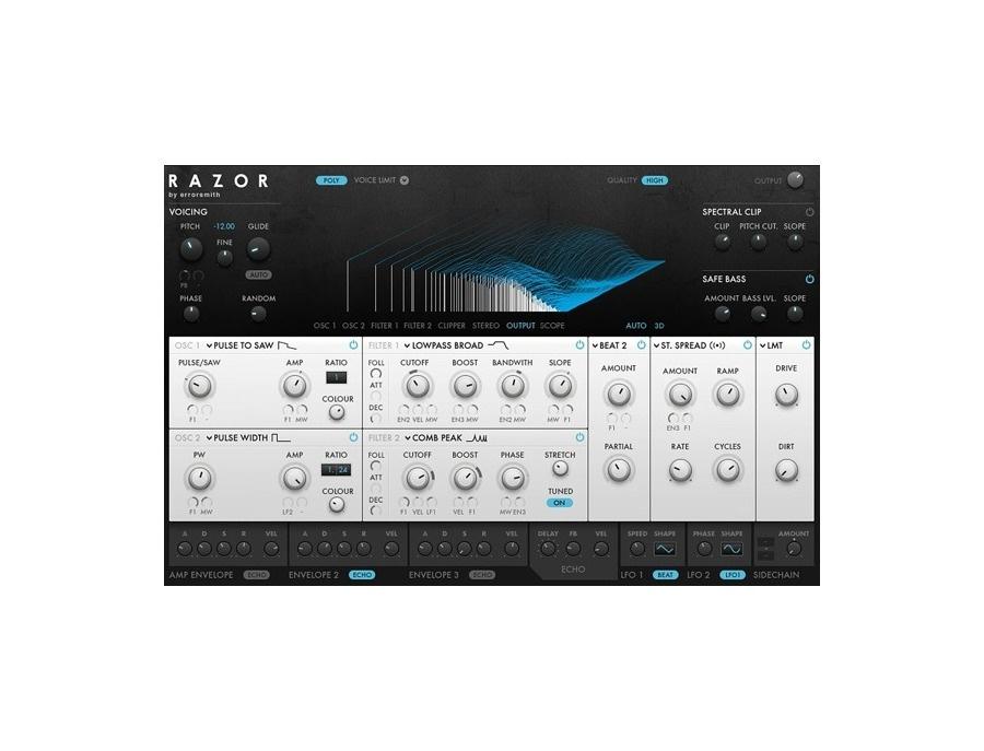Native Instruments Razor Software Synthesizer