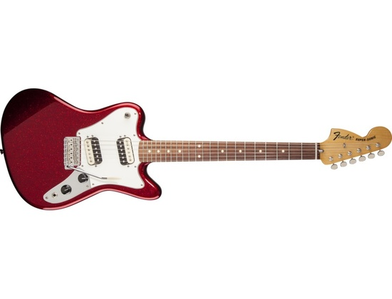 Fender Super-Sonic in red sparkle