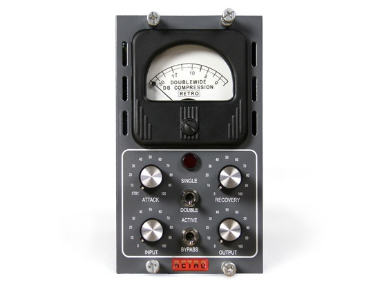 Retro Doublewide Tube Compressor