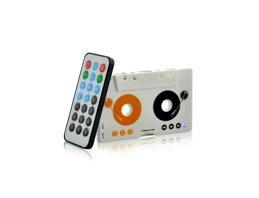 Retro Style Remote Control  Car Cassette MP3 Player