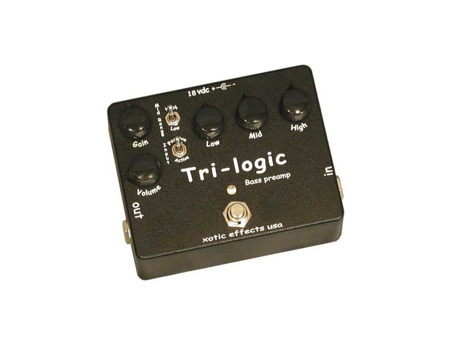 Xotic Tri-Logic Bass Preamp Pedal