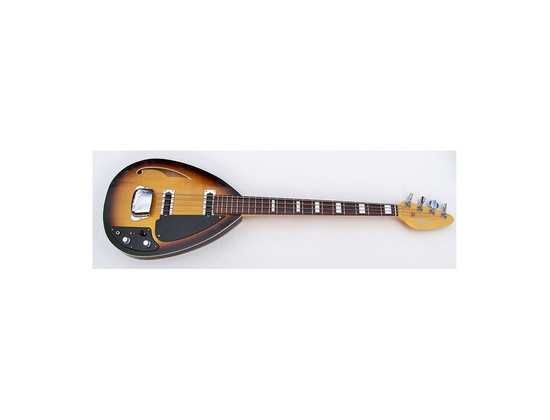 Phantom Teardrop Hollowbody Bass