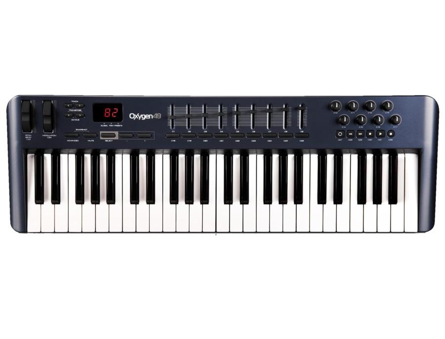 M audio oxygen 49 49 key usb midi keyboard controller xl