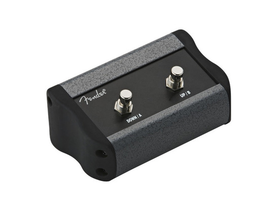 Fender 2-button Programmable Footswitch: Mustang™ Series