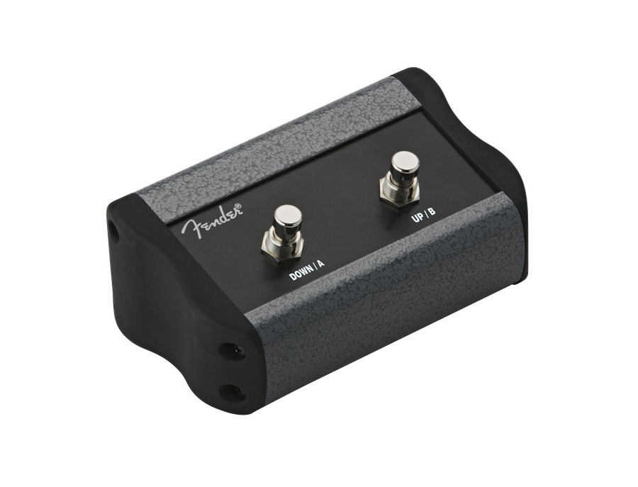 Fender 2 button programmable footswitch mustang series xl