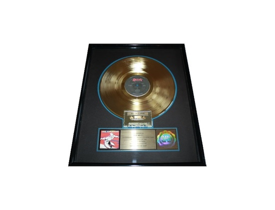 "RIAA Gold Sales Award – ""Surfing with the Alien"""