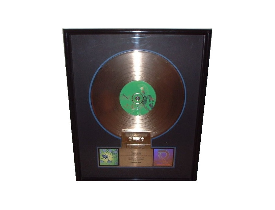 "RIAA Gold Sales Award – ""Time Machine"""