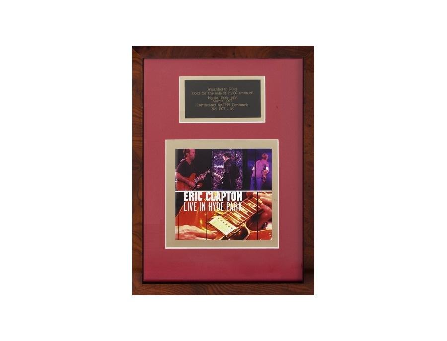 "IFPI Denmark Gold Sales Award – ""Live in Hyde Park"""