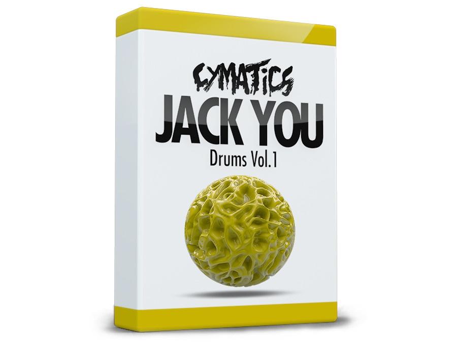 Cymatics Jack U Drums Vol 1