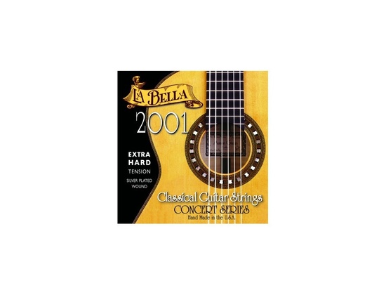 La Bella 2001 Extra Hard Tension Classical Guitar Strings