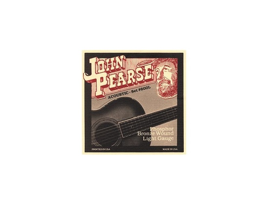 John Pearse #650 Phosphor Bronze Bluegrass