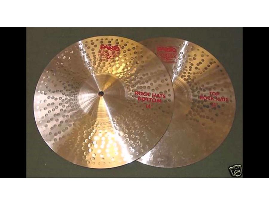Paiste 2002 Rock Hi-Hat 14''