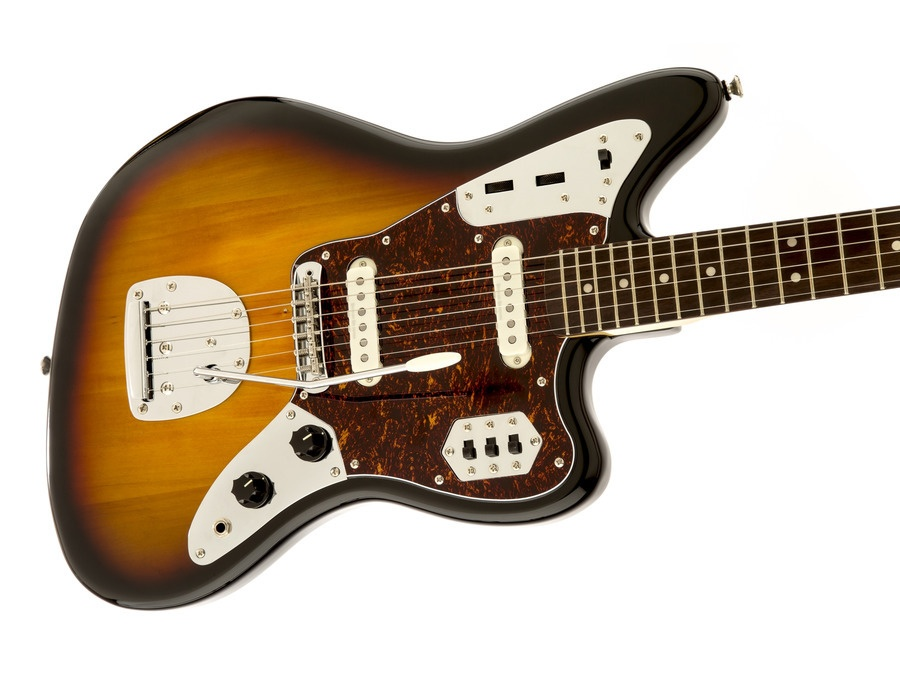 Squier Vintage Modified Jaguar 3 Tone Sunburst