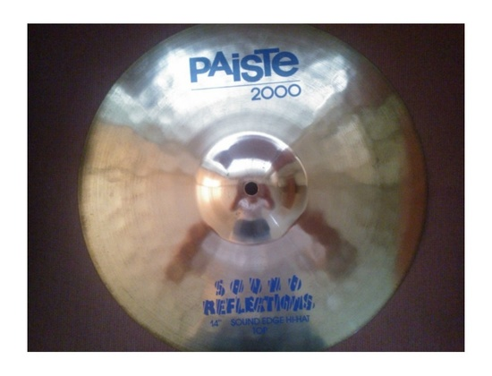 Paiste Cymbal 2000 Sound-Edge Hi-Hat 14""