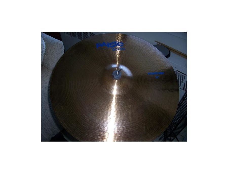 Paiste Cymbal 2000 Power Ride 22""