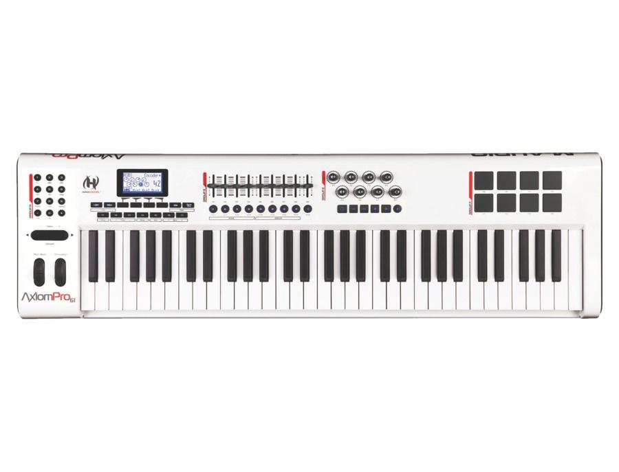M audio axiom pro 61 advanced 61 key usb midi controller xl