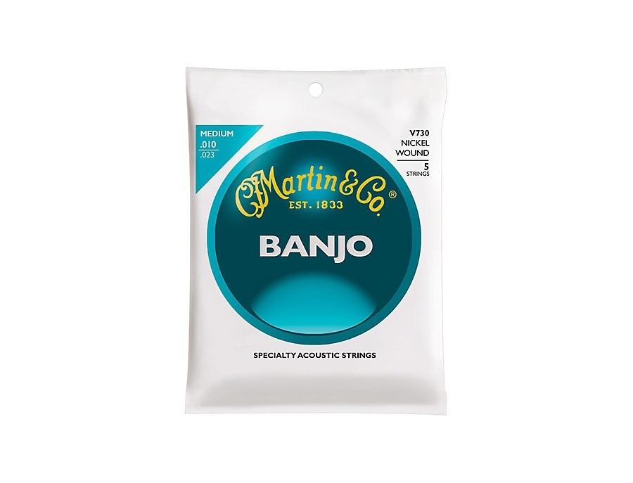 Martin V730 Nickel Wound Medium Vega Banjo Strings