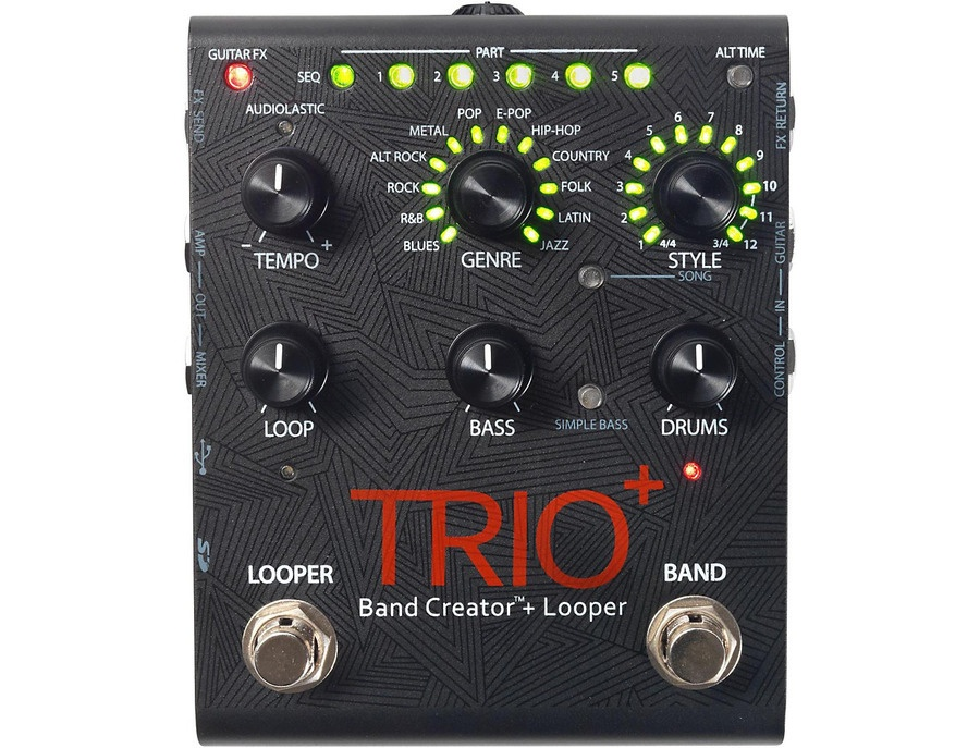 Digitech trio band creator looper xl