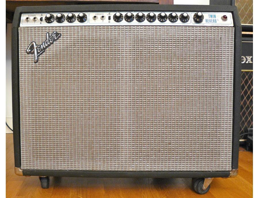 Fender twin reverb silverface xl