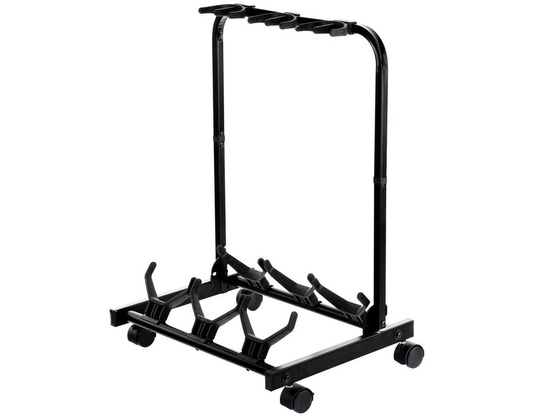 Rocktile Triplicate Movable Guitar Stand