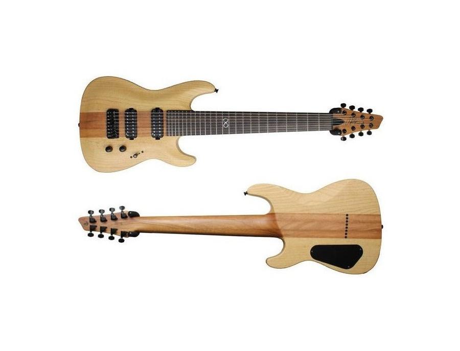 Chapman ml1 8rs rob scallon signature 8 string guitar xl