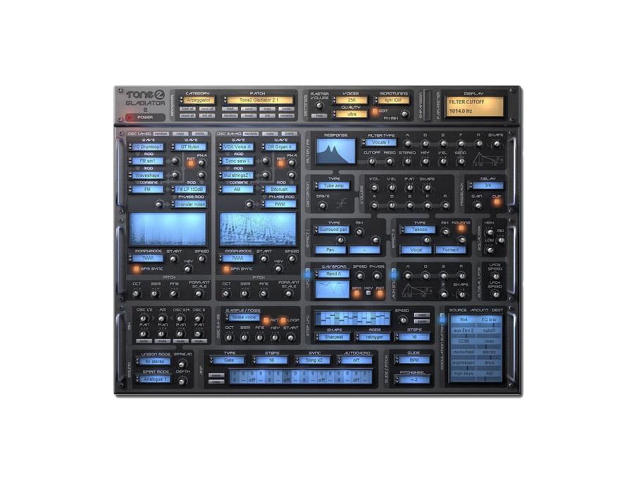 Tone2 gladiator 2 software synthesizer xl