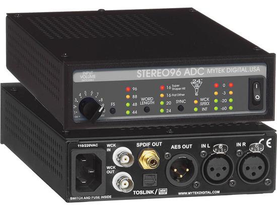 Mytek Digital Stereo96 ADC A/D Convertor