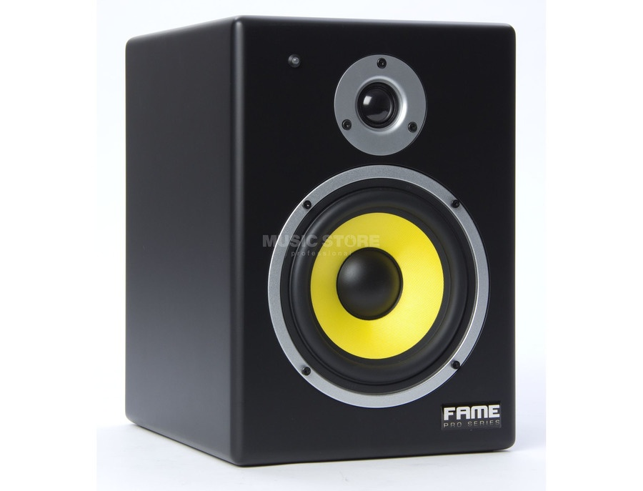 "Fame Pro Series RPM 8"" Active Monitor Speakers"