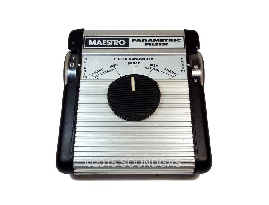 Maestro parametric filter mpf 1 xl