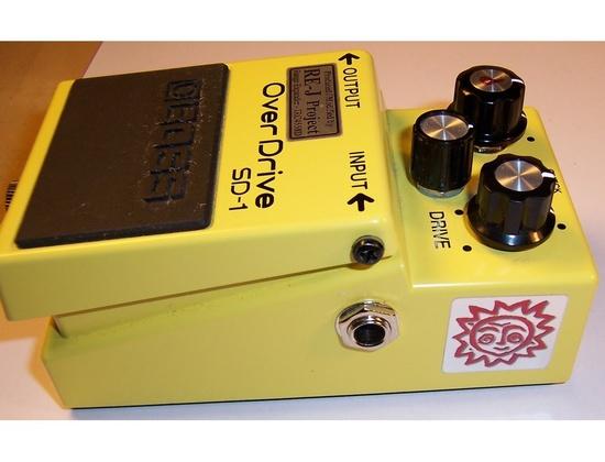 Boss SD-1 Super Overdrive Analogman 808/Silver Mod