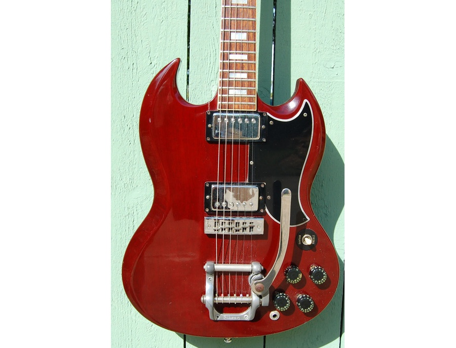 1974 Gibson SG Standard (cherry) Reviews & Prices | Equipboard®