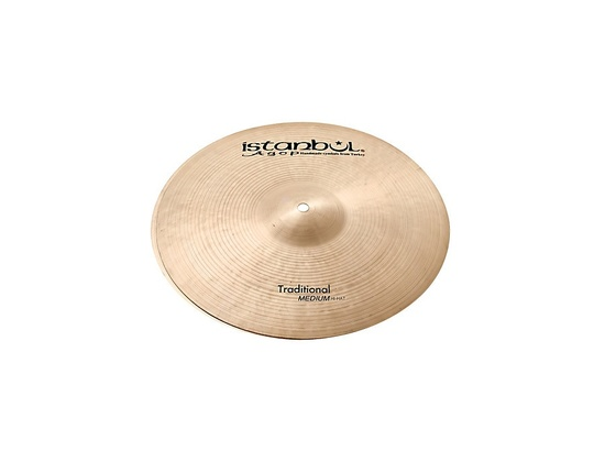Istanbul Agop Traditional Medium Hi-Hat Cymbals  15 in.