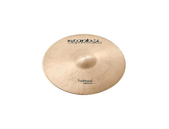 Istanbul Agop Traditional Medium Hi-Hat Cymbals  15 in.