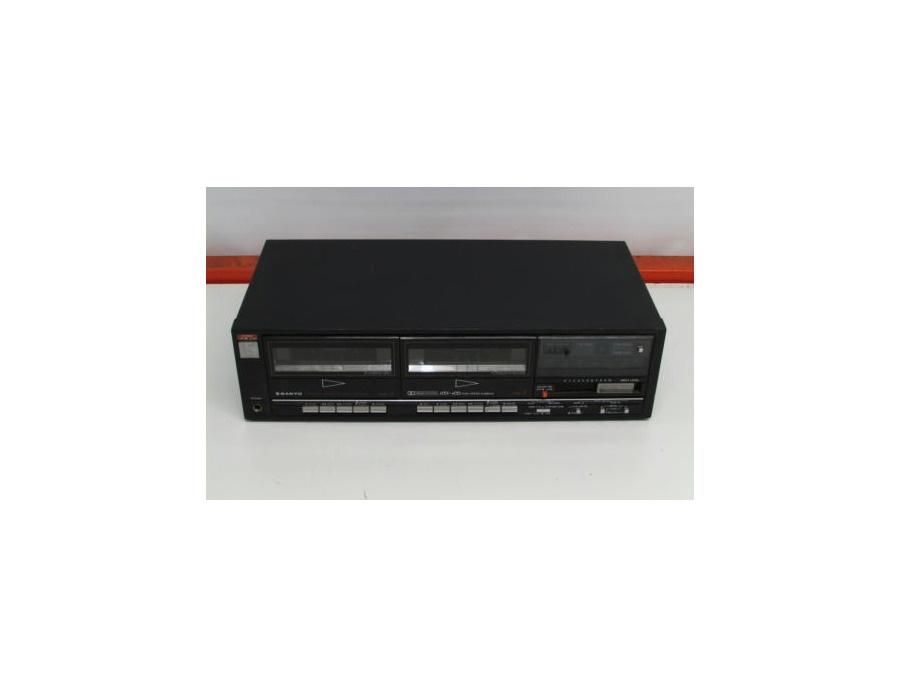 Sanyo rd w49 double cassette deck xl