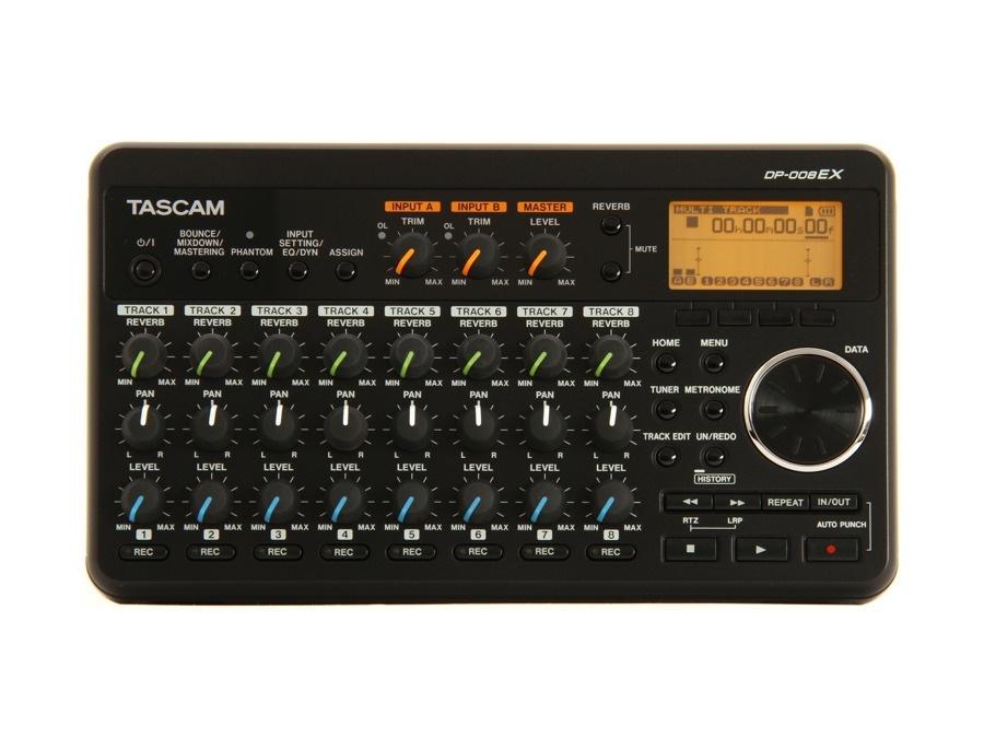 Tascam dp 008ex digital multi track recorder xl