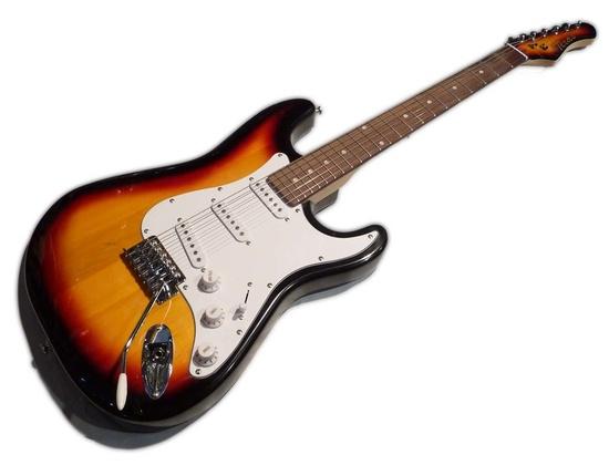 Kansas Stratocaster Sunburst