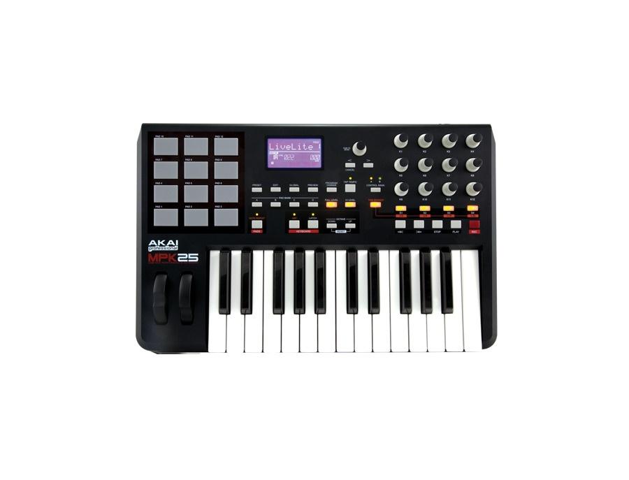 Akai mpk25 25 key usb midi keyboard controller xl