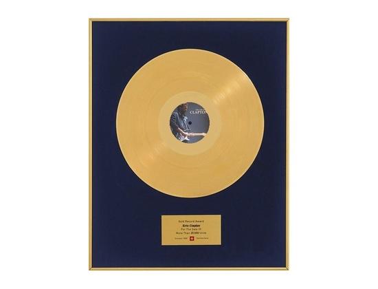 "IFPI Switzerland Gold Sales Award – ""The Cream of Clapton"""