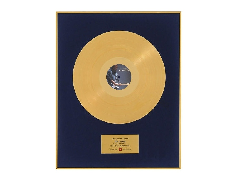"IFPI Switzerland Gold Sales Award – ""The Cream of Clapton"""