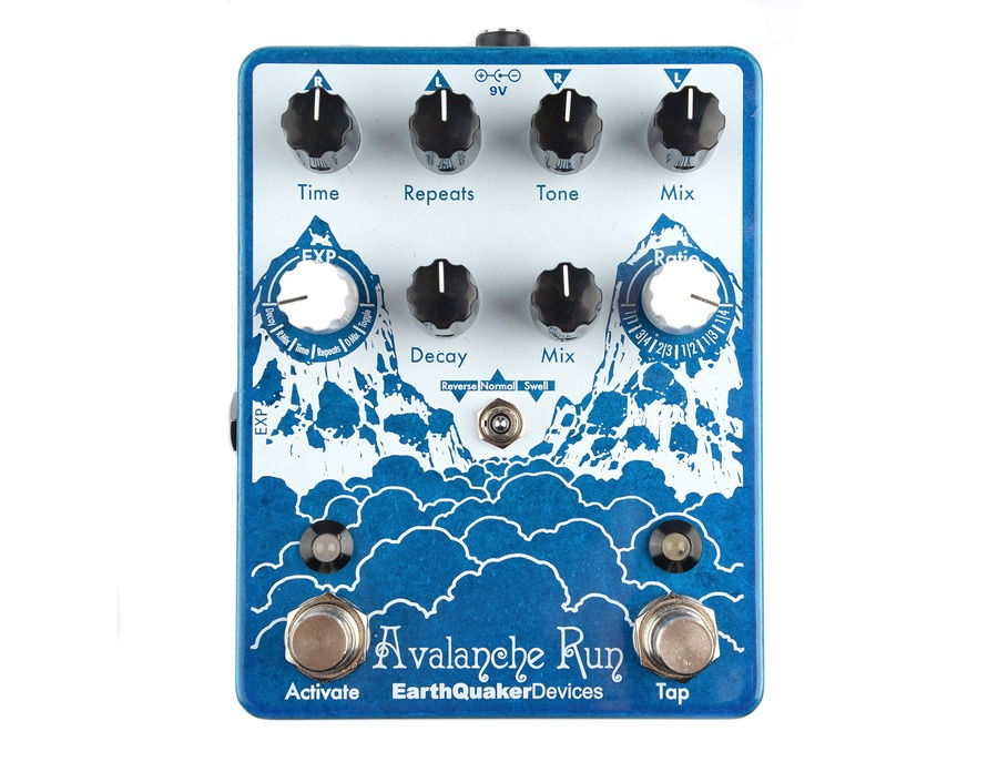 Earthquaker devices avalanche run stereo delay and reverb xl