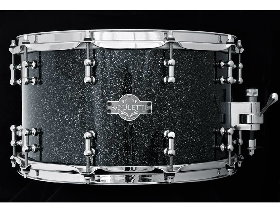 "Roulette Custom Drums 8x14"" 15-ply maple snare drum"