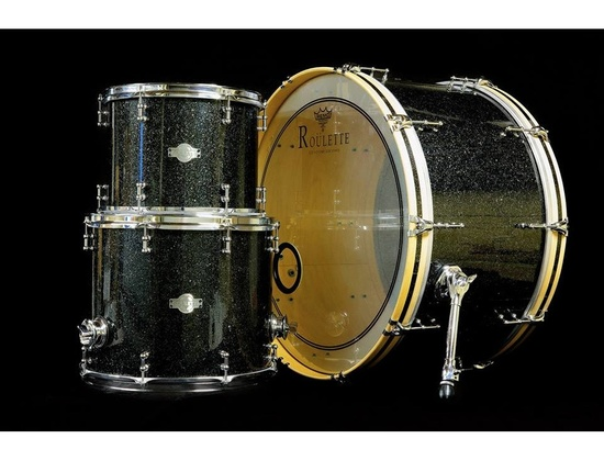 "Roulette Custom Drums: 26"", 13"" and 16"""