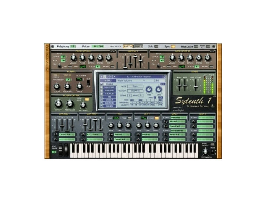 Lennar digital sylenth1 software synthesizer xl