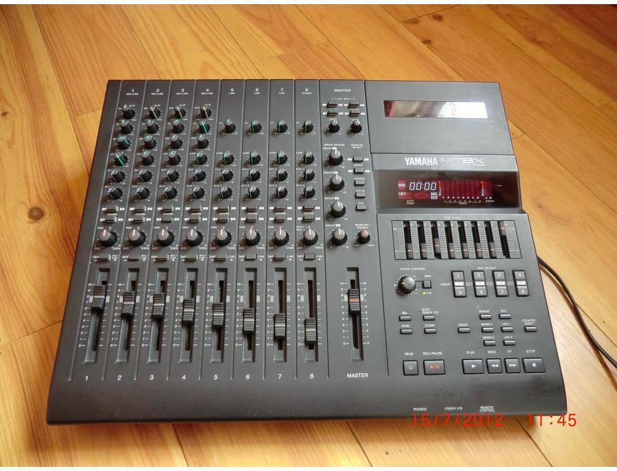 Yamaha mt8x 8 track cassette recorder xl